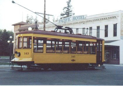 1922 San Jose Trolley Car (#143)