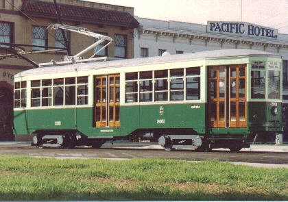 1928 Milan Trolley Car (#2001)
