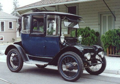 1916 Detroit Electric Touring Car